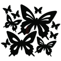 Flutter of Butterflies Decal Sticker Style 3