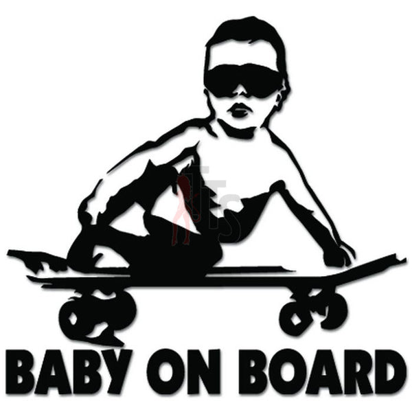 Baby on Board Funny Decal Sticker