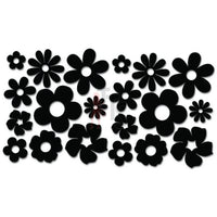 Groovy Flowers Decal Sticker Style 2