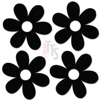 Groovy Daisy Flowers Decal Sticker Style 2