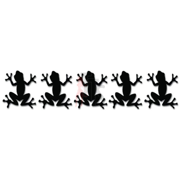 Army of Tree Frogs Decal Sticker