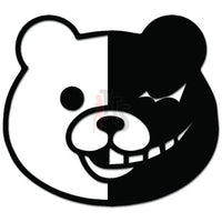 Bear Winking Good Evil Decal Sticker
