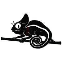 Cute Chamelon Lizard Decal Sticker
