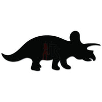 Triceratops Dinosaur Animal Decal Sticker