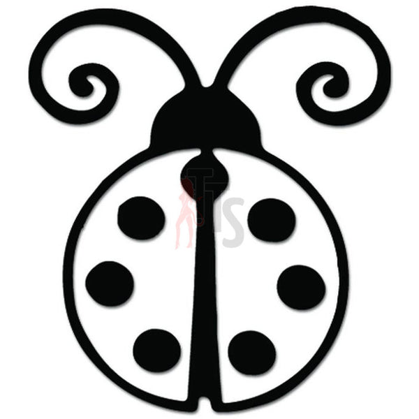 Ladybug Ladybird Insect Decal Sticker