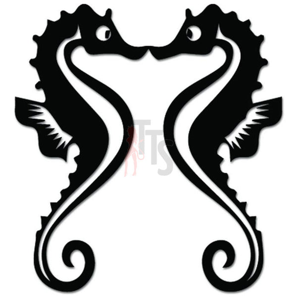 Seahorse Animal Love Decal Sticker