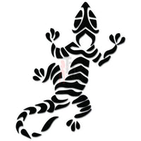 Gecko Lizard Tribal Art Decal Sticker