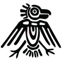 Aztec Ancient Art Bird Decal Sticker