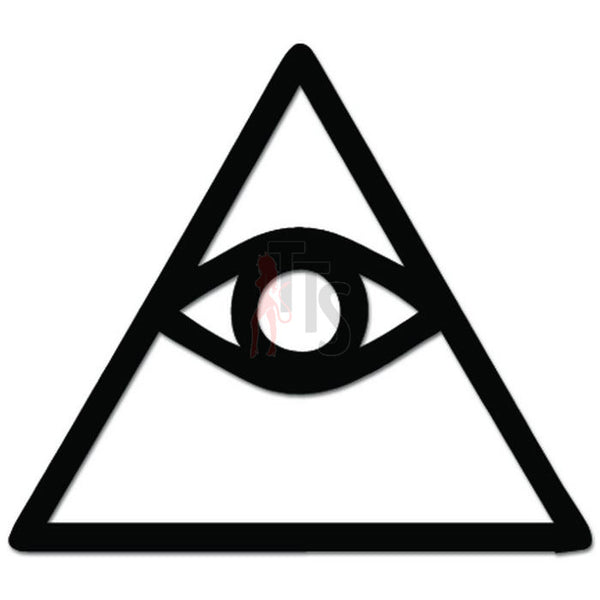 Cao Dai Eye of Providence Symbol Decal Sticker