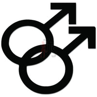 Gay Pride Male Symbol Decal Sticker