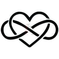 Love Forever Infinity Chain Decal Sticker