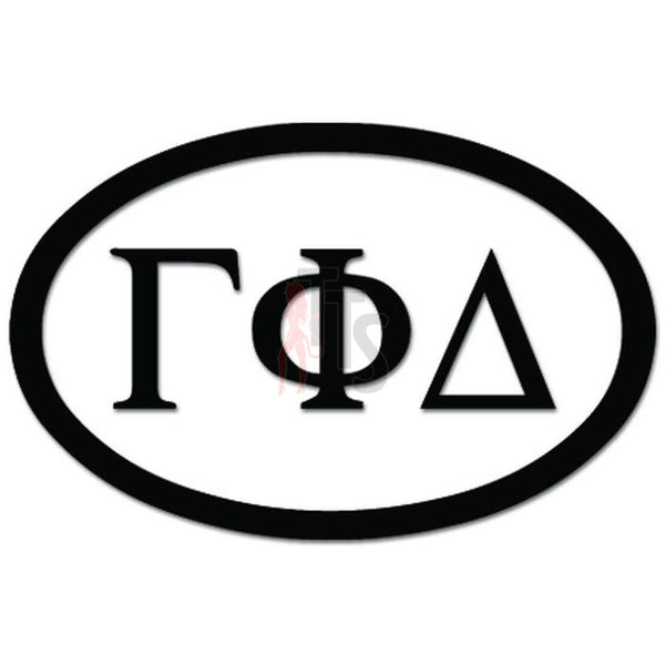 Gamma Phi Delta Greek Sorority Decal Sticker