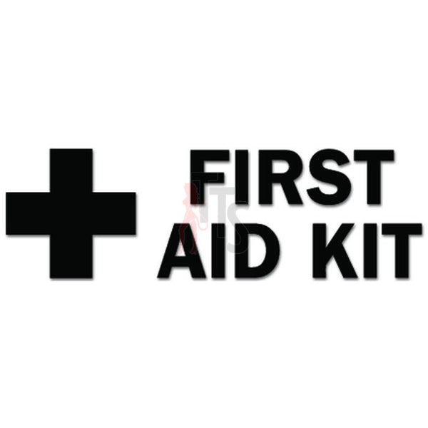 First Aid Kit Sign Decal Sticker Style 2