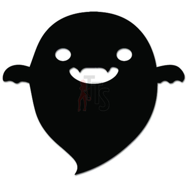 Halloween Ghost Boo Decal Sticker Style 1