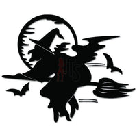 Halloween Witch Decal Sticker