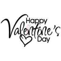 Happy Valentine's Day Decal Sticker