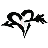 Heart Arrow Decal Sticker