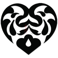 Heart Swirls Decal Sticker