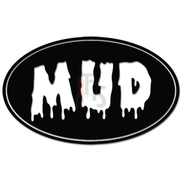 Mud Dirt Jeep Decal Sticker