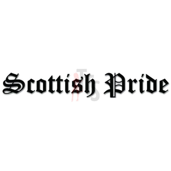 Scottish Pride Decal Sticker