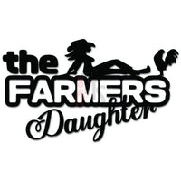 The Farmers Daughter Decal Sticker