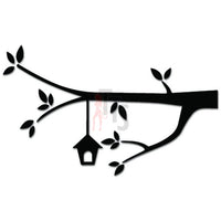 Treehouse Tree Branch Birds Decal Sticker