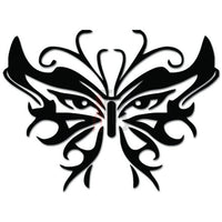 Butterfly Mask Tribal Art Decal Sticker