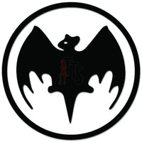 Bacardi Bat Decal Sticker