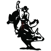 Bullrider Rodeo Cowboy Decal Sticker