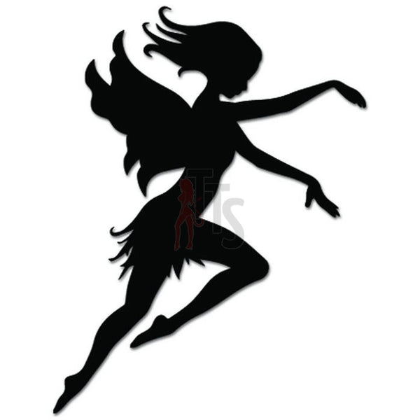 Flying Fairy Fantasy Decal Sticker Style 1