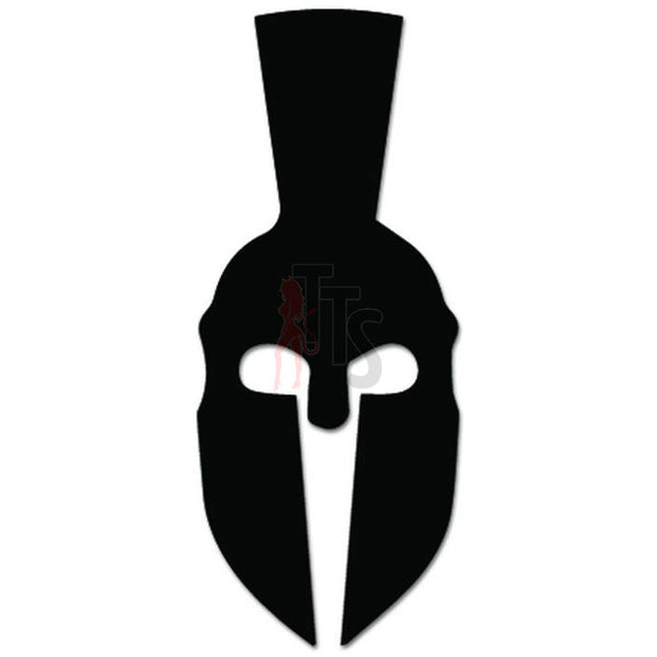 Greece Spartan Hoplite Helmet Decal Sticker Style 2