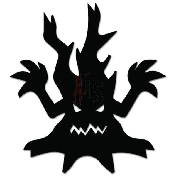 Tree Monster Decal Sticker