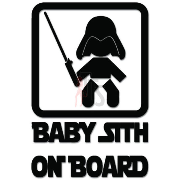 Baby Sith On Board Decal Sticker