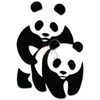 Panda Bear Having Sex Funny Decal Sticker