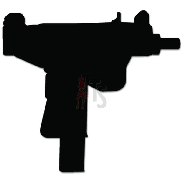 UZI Gun Weapon Decal Sticker