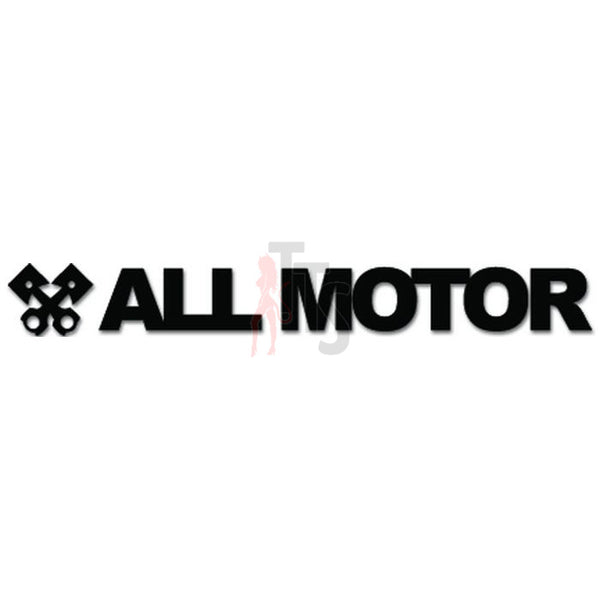 All Motor Engine JDM Japanese Decal Sticker