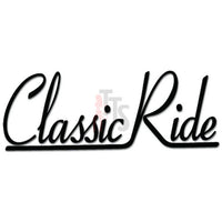 Classic Ride JDM Japanese Decal Sticker