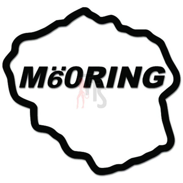 M60 Ring Race Track JDM Japanese Decal Sticker