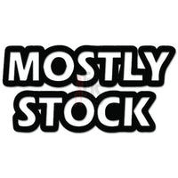 Mostly Stock JDM Japanese Decal Sticker Style 1