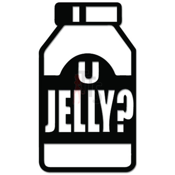 You Jelly JDM Japanese Decal Sticker