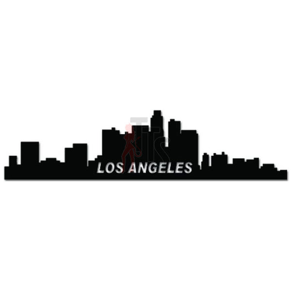 Los Angeles Skyline California Decal Sticker