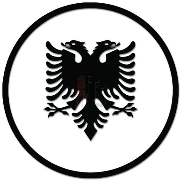 Albania Flag Eagle Albania Decal Sticker