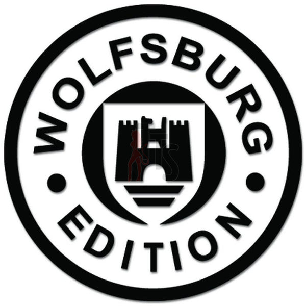 Wolfsburg Germany Coat of Arms Decal Sticker Style 3