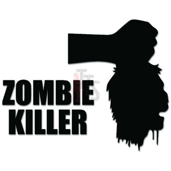 Zombie Killer Decal Sticker