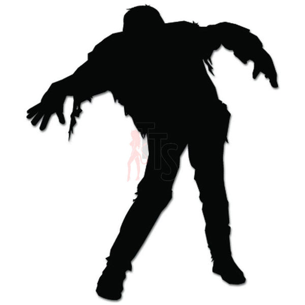 Walking Dead Zombie Decal Sticker Style 1