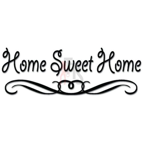 Home Sweet Home Decal Sticker