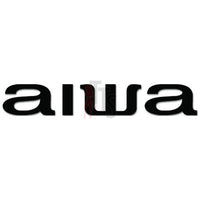 Aiwa Car Audio Decal Sticker Style 1