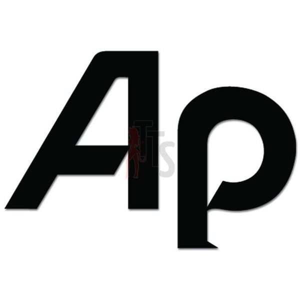 AP Car Audio Decal Sticker