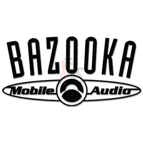 Bazooka Mobile Car Audio Decal Sticker