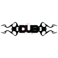 DUB Car Audio Decal Sticker Style 2